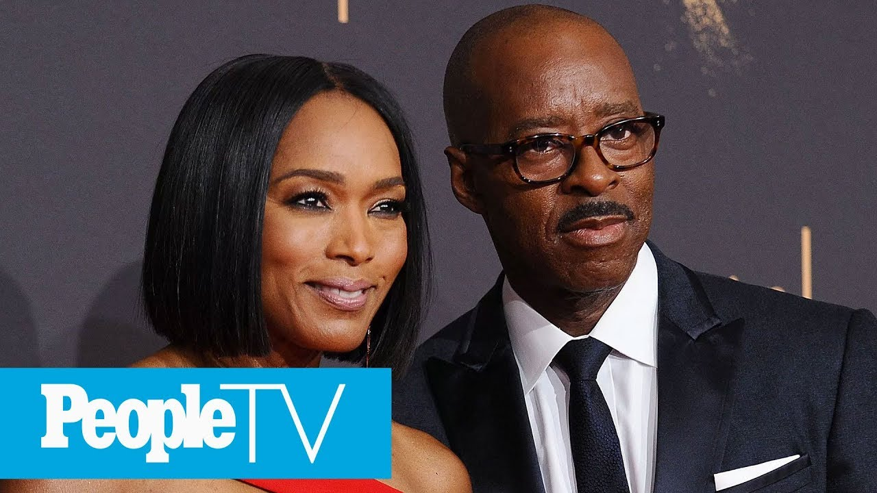 Angela Bassett On How She Met Husband Courtney B. Vance | PeopleTV | Entertainment Weekly