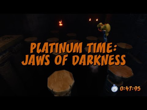 Jaws of Darkness Platinum Time