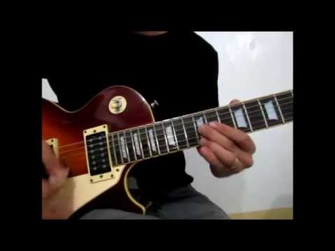Estranghero Maria Cafra Tutorial Guitar Solo With
