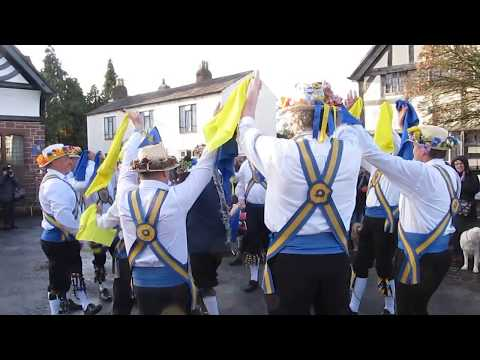Two-Nine-Oh Processional, a Cotswold Morris dance created by Mersey Morris
