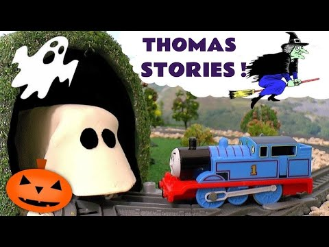Thomas & Friends Toy Trains Spooky Ghost Games with Play-Doh Train Toys for kids and children TT4U