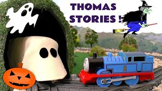 Thomas & Friends Toy Trains Spooky Ghost Pranks with Play-Doh Train Toys for kids and children TT4U