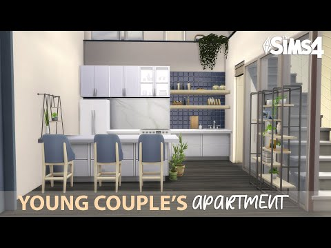 YOUNG COUPLE'S APARTMENT | No CC | The Sims 4 Stop Motion Build