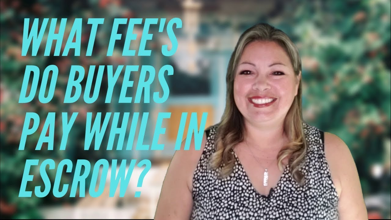 What Fee's do Buyers Pay while in Escrow in Oahu, Hawaii?