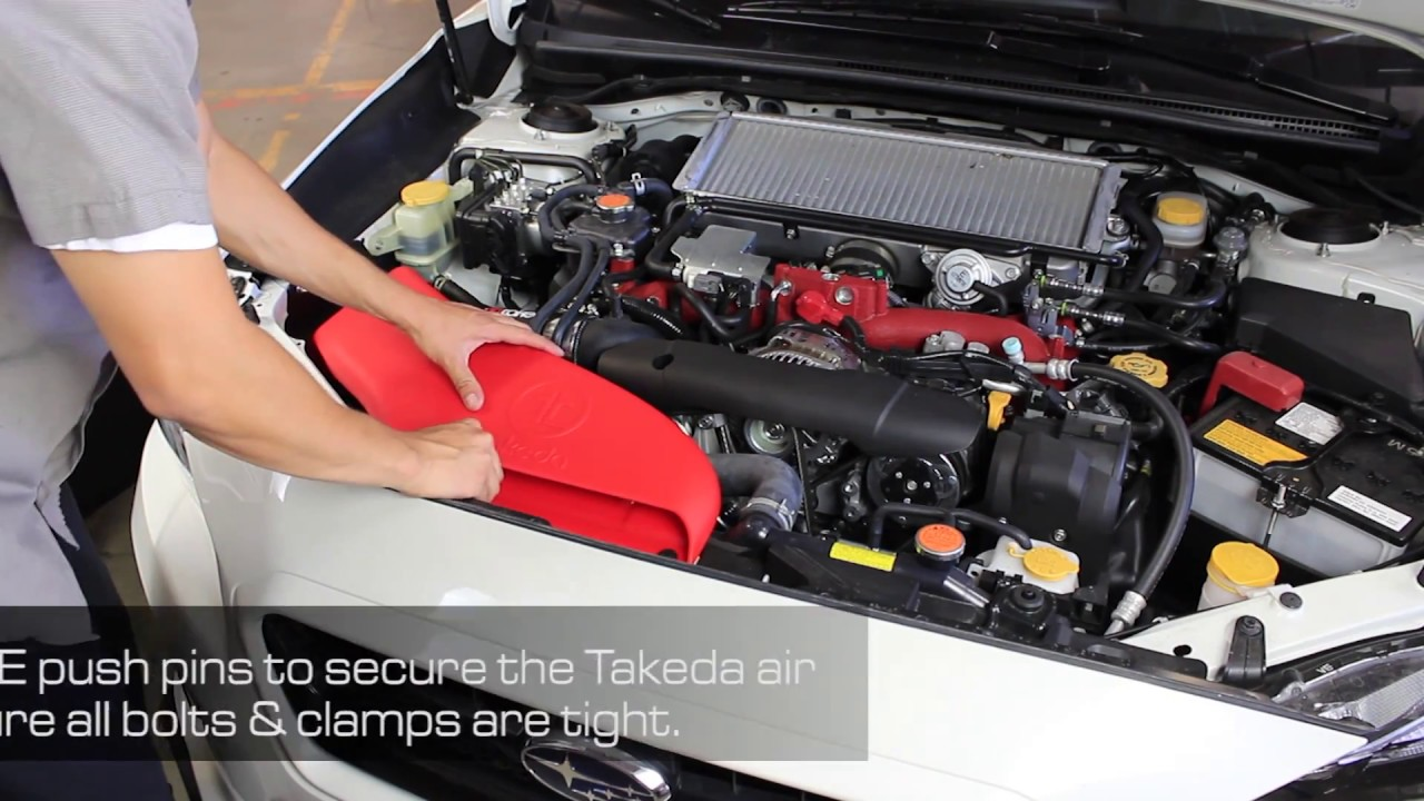 Takeda Attack Stage-2 Cold Air Intake System w\/Pro 5R Filter Media