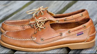 Sebago Boat Shoes - Made in USA - in 4k UHD