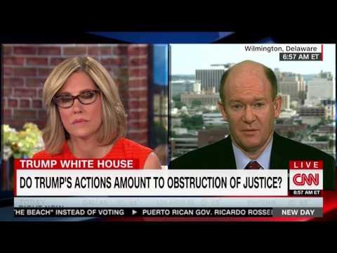 Senator Coons joins CNN New Day June 12, 2017