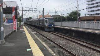 【6000系6001F編成】急行本川越行 西武柳沢通過【西武新宿線2020】