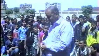 شاهد ماذا قال الطالب / أسامة شحات في معلمي مدرسة الشنطور الثانوية
