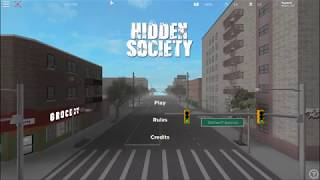 Hidden Society New York ROBLOX - Hauptmenü Thema