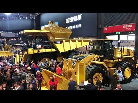 BAUMA 2019 - The World's Largest Construction Machinery Exhibition In Munich !!