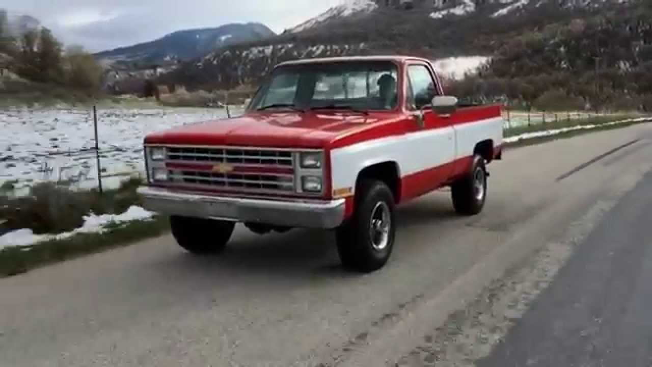 1985 chevy k10 short bed 4wd fully restored strong mechanical 1985 chevy k10 short bed 4wd fully restored strong mechanical 6k paint 2k interior youtube sciox Choice Image