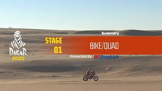 Dakar 2020 - Stage 1 (Jeddah / Al Wajh) - Bike/Quad Summary