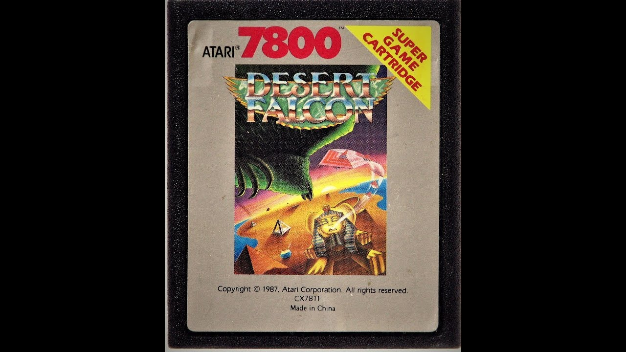 atari 7800 desert falcon