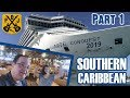 Carnival Conquest Cruise Vlog 2019 - Part 1: Embarkation Day, Cabin Tour, Muster Drill - ParoDeeJay