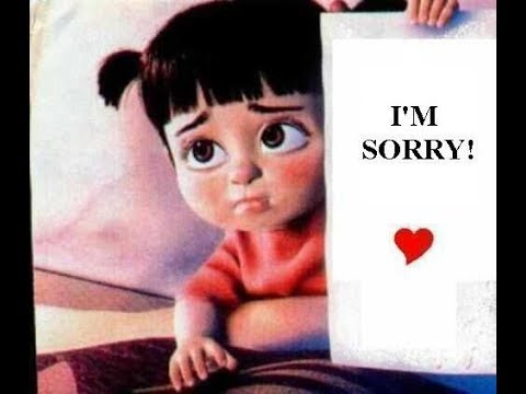 I Am Sorry Status Wallpaper Images