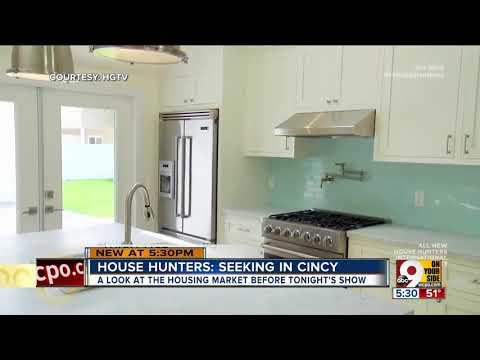 HGTV's 'House Hunters' featuring 3 Cincinnati homes on Friday
