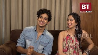 'Dhadak': Ishaan Khatter and Janhvi Kapoor get goofy!