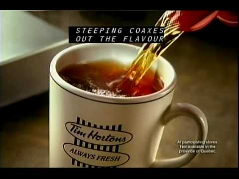 Tim Hortons Steeped Tea Commercial - YouTube