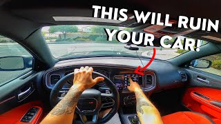 QUICKEST WAY TO MESS UP YOUR DODGE CHARGER 392 SCAT PACK | HELLCAT | CHALLENGER