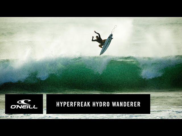 Brett Barley Wears The Hyperfreak Hydro Wanderer Boardshort | O'Neill