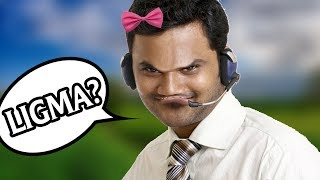 RAIDING TECH SUPPORT SCAMMERS WITH LIGMA