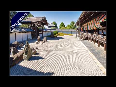 The Japanese Karesansui Garden Design