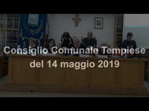 Consiglio Comunale 14 05 2019
