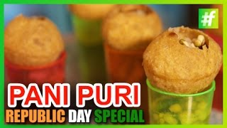 #fame food - How to Make Vodka Pani Puri | Republic Day Special | by Amrita Rana