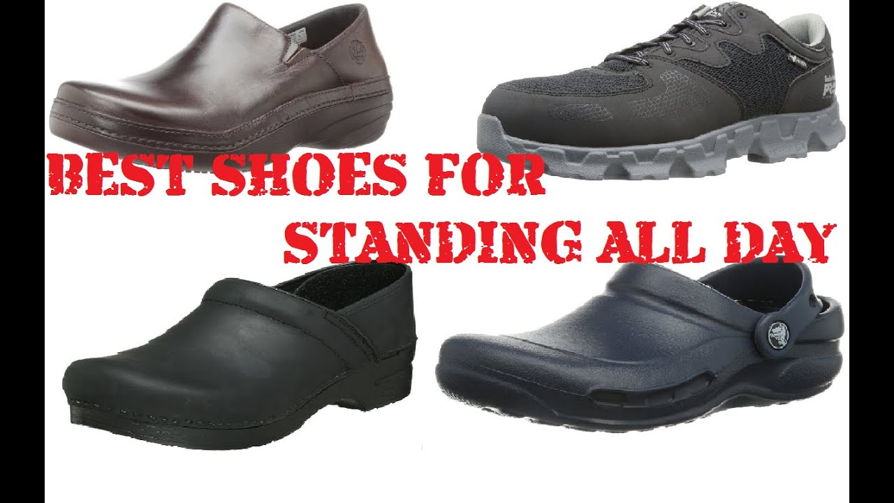 Best Working Shoes For Standing And Walking
