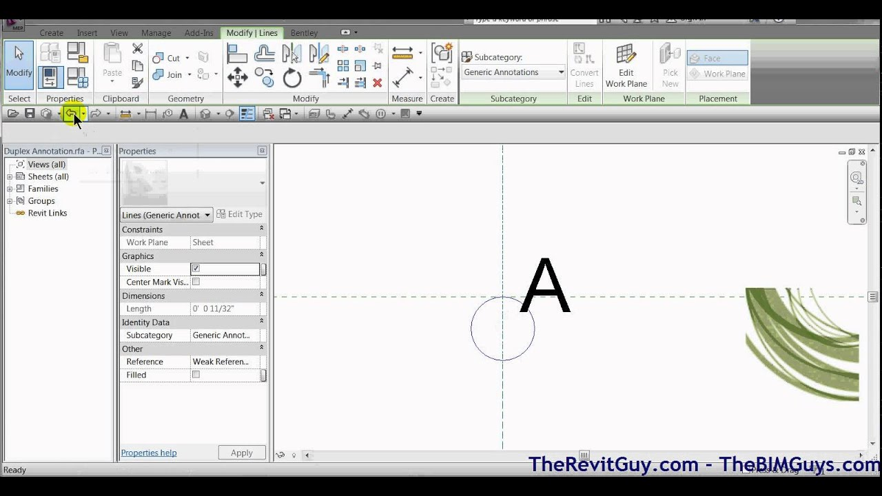 Revit creating custom electrical symbols in revit mep youtube biocorpaavc Choice Image
