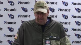 Titans Coach Mike Mularkey Press Conference | #TENvsPIT