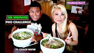 UNDEFEATED 10LB PHO BOWL $200 CASH PRIZE | ft. Wayne | RainaisCrazy | Oxnard, CA