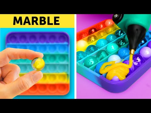 POP IT! COLORFUL DIYs and COOL HACKS FOR EVERYONE