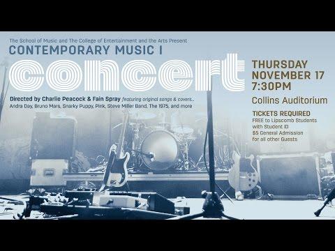 Lipscomb University Contemporary Music Ensemble I  Briston Maroney