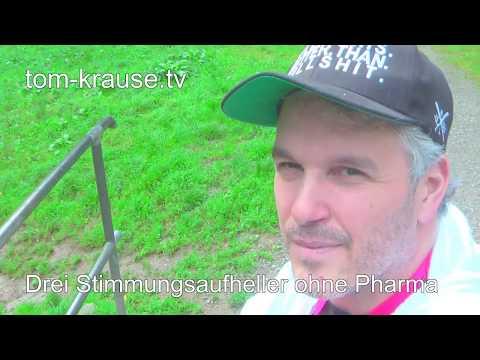 Drei Stimmungsaufheller ohne Pharma