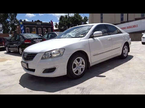 2009 Toyota Aurion Booval Ipswich Woodend Raceview Brisbane Qld
