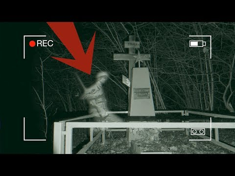 Реальная мистика на видео | Оставил камеры на могиле Неизвестному Солдату