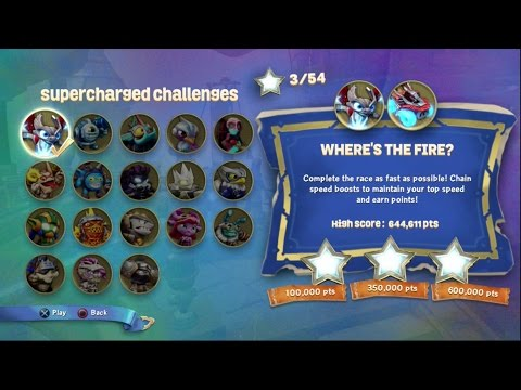 Spitfire & Hot Streak - SuperCharged Challenge - Where's the