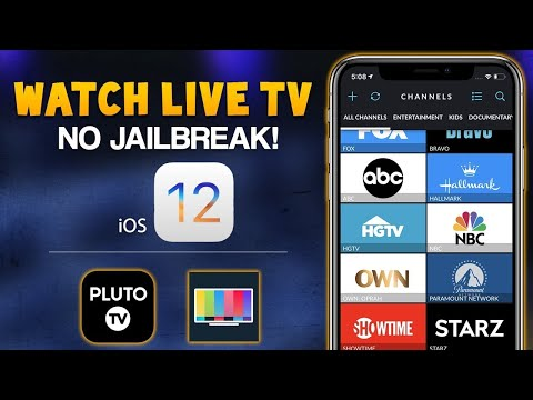 #HOW TO WATCH LIVE TV ON IPHONE 2019|No Jailbreak Needed||Watch Live Tv ,Football And Movies||