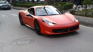 Ferrari 458 ile İZMİT turu
