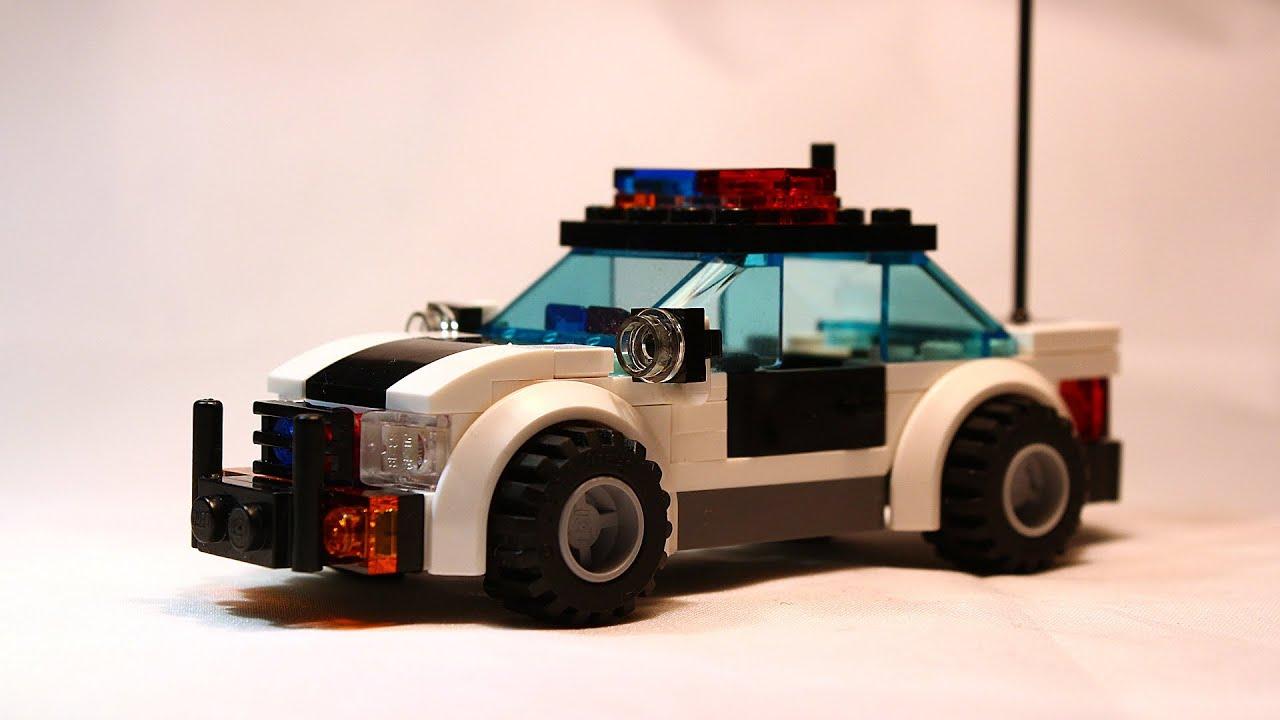 Lego Police Car Moc Instructions Youtube