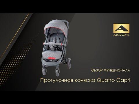 Прогулочная коляска Quatro Сapri 2019