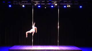 2018 US Pole Dance Championship Professional Division - Brittnai
