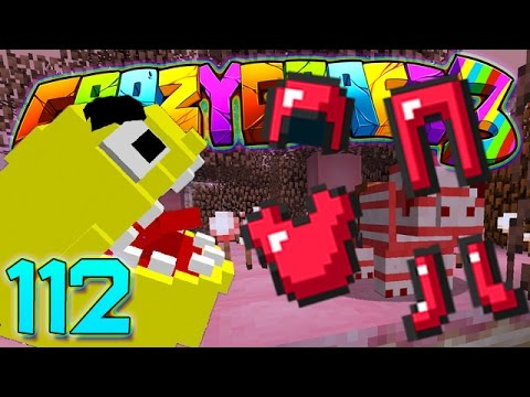 Minecraft Crazy Craft 3.0: PACMAN MOD AND CANDY ARMOR MOD! #112 (Modded Roleplay)