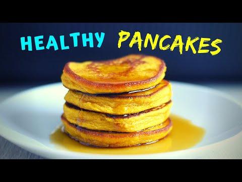 3 Ingredient Healthy Pancakes (3 WAYS! GLUTEN FREE!)