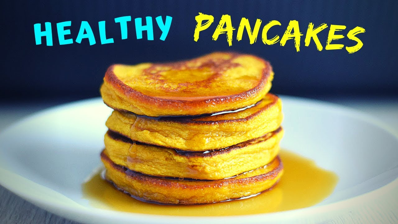 3 Ingredient Healthy Pancakes (3 WAYS! GLUTEN FREE!)