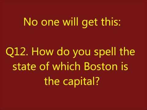 USA State Quiz
