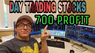 Stock Trading Re-Cap | +700 Profit 7/13/2018