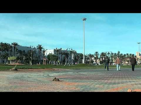 Tripoli - Main Square at the Capital of Libya
